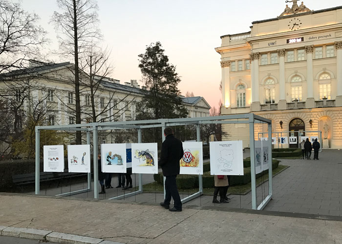 Exhibition in Warsaw was opened!